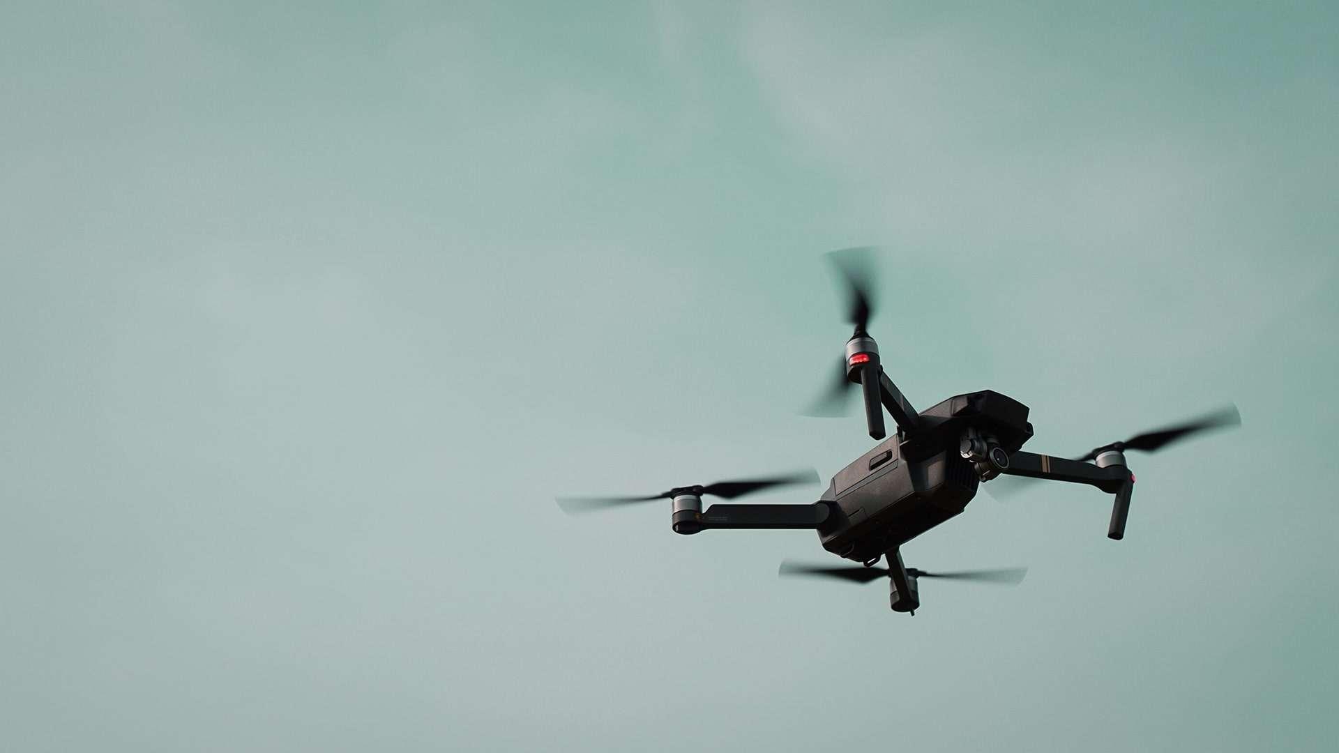 Snemanje in fotografiranje z dronom
